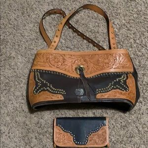Montana West purse and wallet